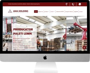 web design personalizat reciclare paleti