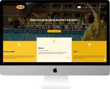 web design personalizat ASMB