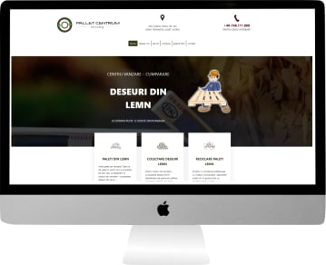 web design personalizat colectare deseuri